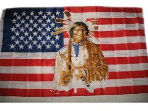 1,5x 0,9m USA Drapeau indien d'Amérique de la marque Emblems-Gifts image 0 produit