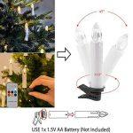 10 pcs Led Bougie Clip pour Sapin Decoraion Equipe Telecommande de la marque Ouneed® image 3 produit