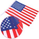 100 Drapeaux de Banderoles Américains Chaîne de Bannière États-Unis Drapeaux Étoiles et Rayures pour le 4 Juillet, Jour Anniversaire, Jour de Vétérans, Jour de l'Indépendance, Fête du Travail, Décorations de Jour de Drapeau de la marque Jovitec image 2 produit