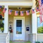100 Drapeaux de Banderoles Américains Chaîne de Bannière États-Unis Drapeaux Étoiles et Rayures pour le 4 Juillet, Jour Anniversaire, Jour de Vétérans, Jour de l'Indépendance, Fête du Travail, Décorations de Jour de Drapeau de la marque Jovitec image 3 produit