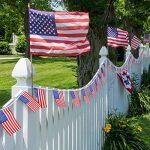 100 Drapeaux de Banderoles Américains Chaîne de Bannière États-Unis Drapeaux Étoiles et Rayures pour le 4 Juillet, Jour Anniversaire, Jour de Vétérans, Jour de l'Indépendance, Fête du Travail, Décorations de Jour de Drapeau de la marque Jovitec image 4 produit