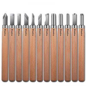 12 pièces Outil de Gravure en Bois Preciva Décapage Couteau Sculpture sur bois de la marque Preciva image 0 produit