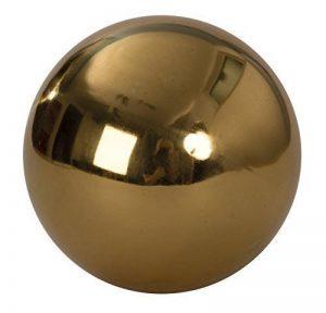 2 Pièces Décoration Boules de jardin or en acier inoxydable diamètre 15 cm de la marque Mel-O-Design image 0 produit