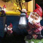 2 Réglez nain lumineux LED solaire jardin batterie coloré de la figure de lampe de le debout balcon extérieur de la marque etc-shop image 4 produit