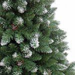 240 cm arbre sapin de Noël artificiel avec de la neige et de pommes de pin de la marque RS Trade image 2 produit