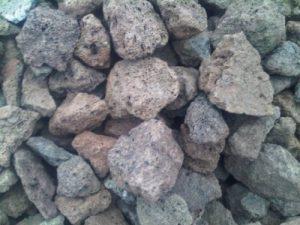 25kg pierres de lave 40–150mm–Barbecue à gaz barbecue électrique Galets pierres de lave Gravier Aquarium Pierres de lave–Livraison gratuite de la marque Der Naturstein Garten image 0 produit