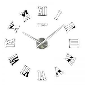 3d DIY Horloge murale, Timelike 1m moderne sans cadre Grande horloge murale 3d DIY Kit décoration maison pour salon Chambre à coucher de la marque Timelike image 0 produit