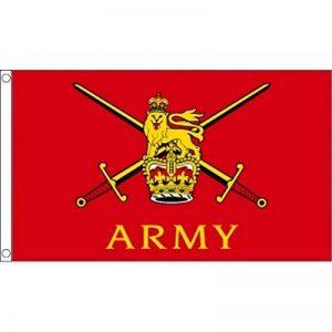 3ft x 2ft (90 x 60 cm ) Armée Britannique Armed Forces 100% matière polyester Bannière drapeau idéal pour les bar pub CLUB école FESTIVAL entreprises Décoration de fête de la marque image 0 produit