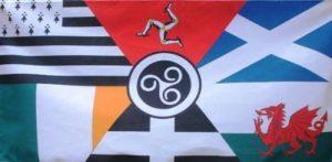 5 ft x 3 ft 150 x 90 cm-DRAPEAU des Nations unies) Celte Breton Île de Man, Écosse, Pays de Galles, Irlande matière Drapeau de Cornouailles de la marque Flag Co image 0 produit