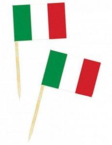 50 mini drapeaux ITALIE de la marque Aptafêtes image 0 produit