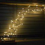 72LED Guirlande Lumineuse Blanc Chaud 24V Etanche IP65, CroLED guirlande lumineux Déco Mural Rideau Mariage Jardin Terrasse Pelouse Maison - 8 Modes d'éclairage Dimmable de la marque CroLED image 3 produit