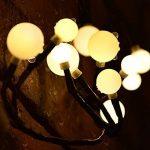 72LED Guirlande Lumineuse Blanc Chaud 24V Etanche IP65, CroLED guirlande lumineux Déco Mural Rideau Mariage Jardin Terrasse Pelouse Maison - 8 Modes d'éclairage Dimmable de la marque CroLED image 4 produit