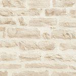 A.S. Création Papier Peint Intissé Best of Wood n Stone 2nd Edition Papier peint imitation pierre Photo Pierre réaliste Papier peint Pierre Naturelle 10, 05M x 0, 53M Beige Crème fabriqué en Allemagne 35580335580–3, beige, crème de la marque A.S. Créa image 1 produit