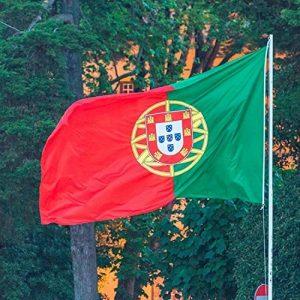 ADATECH Portugal Drapeau de 150 x 90 cm drapeau Portugal adapté pour MASTIL en polyester de la marque Adatech image 0 produit