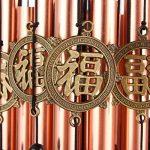 Agirlgle 28Tube en métal Carillon en cuivre avec Bell Carillon en bois pour patio, terrasse et jardin–Best Grande Carillon musical en métal pour décoration de la maison de la marque Agirlgle image 4 produit