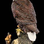 Aigle statue de jardin sur une branche | Blanc Aigle à tête statue Décoration de jardin Oiseaux de Proie de la marque Figuren Shop GmbH image 3 produit
