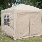 AirWave Tente 2.5x2.5mtr dépliable gazebo, waterproof, beige,+ 4 panneaux côté de la marque AirWave image 3 produit