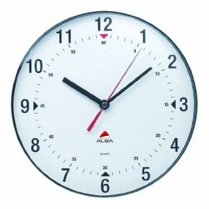 Alba Horclas Une horloge de mur circulaire (diamètre de 25 cm) Blanc de la marque Alba image 0 produit