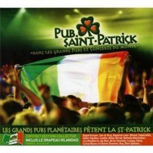 album Pub Saint Patrick + Drapeau Irlandais offert KMCD 533 de la marque Compilation image 0 produit