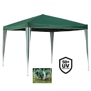 Angel Living Foldable Pop Up Gazebo 3x3m Folding Party Tent Garden Outdoor Patio Marquee Awning with Carrying Bag (Vert) de la marque Angel Living image 0 produit