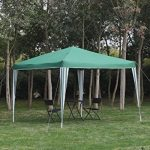 Angel Living Foldable Pop Up Gazebo 3x3m Folding Party Tent Garden Outdoor Patio Marquee Awning with Carrying Bag (Vert) de la marque Angel Living image 2 produit