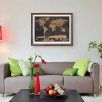 Anokay Carte à Gratter - grand Map du Monde à Gratter - poster Monde XXL, Travel Voyage 82 x 60 cm/ Règle créative pour Voyage (12 Drapeaux gratuits) de la marque Anokay image 5 produit