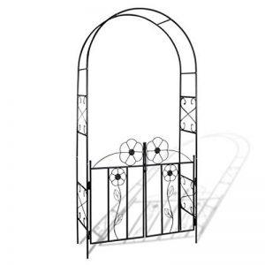 Anself 115 x 37 x 230cm Arche à Rosiers de Jardin en Fer de la marque Anself image 0 produit