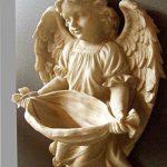 antikas–Figurine ange, comme Antique, une eau bénite rigide ou comme Abreuvoir pour oiseaux, Süsse Ange de la marque Antikas image 1 produit
