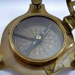 Antique Sundial Compass Replica 4in - Solid Brass Pocket Sundial - West London by The New Antique Store de la marque The New Antique Store image 2 produit