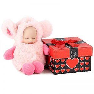 AOKE Cute Reborn Baby Doll Plush Keychain de la marque AOKE image 0 produit