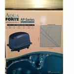 'AQUAFORTE Pompe à air à économie d'énergie AP-35, 20W, 30L/Min (à 1m), Pression Max.: Bleu AP-200 Bleu de la marque Aqua Forte image 2 produit