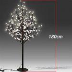 Arbre Cerisier Lumineux 200 LEDs 180cm pour Intérieur Extérieur Décoration fêtes de la marque Deuba image 2 produit