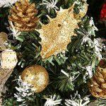 Arbre de Noël artificiel, Protection de l'environnement PVC avec Pots de fleurs Ensemble pour Décoration Sapin Noël par Wongfon de la marque Wongfon image 1 produit
