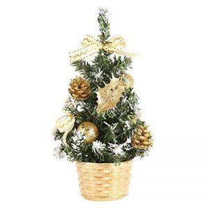 Arbre de Noël artificiel, Protection de l'environnement PVC avec Pots de fleurs Ensemble pour Décoration Sapin Noël par Wongfon de la marque Wongfon image 0 produit