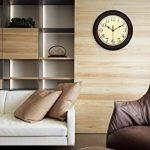 Ardisle Marron 40cm Horloge murale Chambre Home Grande cuisine de style vintage shabby chic de la marque Ardisle image 1 produit