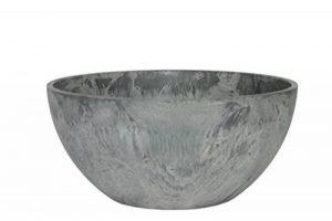 Artstone Pot de fleurs, Coupe de fleurs Fiona, résistant au gel et ultraléger, Gris, 25x12cm de la marque Ivyline image 0 produit
