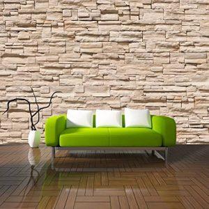 Asian Stonewall Papier peint photo 366x 254cm Papier peint Pierres 3D deco. Deals mural mur de pierre de la marque deco.deals top image 0 produit