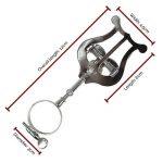 AWM 1708 Lyre pour Clarinette sib Argenté de la marque WMA image 1 produit