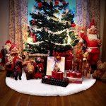 Aytai Luxe imitation fourrure Jupe de sapin de Noël Blanc neige doux 120 cm Décorations de Noël Noël Vacances Arbre jupes de la marque Aytai image 4 produit