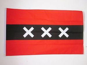 AZ FLAG DRAPEAU Amsterdam Drapeau 150x 90cm de la marque AZ FLAG image 0 produit