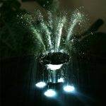 Bain d'Oiseau Pizzaro – Fontaine Solaire Avec Lumières de la marque Primrose image 2 produit