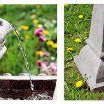 Bain d'Oiseau Pizzaro – Fontaine Solaire Avec Lumières de la marque Primrose image 5 produit