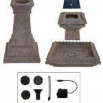 Bain d'Oiseau Pizzaro – Fontaine Solaire Avec Lumières de la marque Primrose image 6 produit