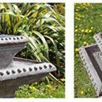 Bain d'Oiseau Pizzaro – Fontaine Solaire Avec Lumières de la marque Primrose image 4 produit