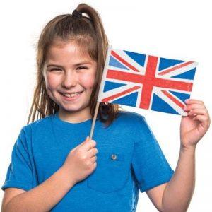 Baker Ross Mini-drapeaux en tissu à peindre et à décorer 19,5cmx 12,5cm (Lot de 6) de la marque Baker Ross image 0 produit