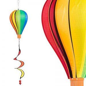 Ballon - Micro Balloon TWISTER - résiste aux intempéries - Ballon: Ø17cm x 28cm, nacelle : 4cm x 3.5cm, Spirale: Ø10cm x 35cm - incl. système d'accrochage de la marque IMC Networks image 0 produit
