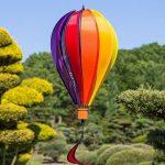 Ballon - Satorn Balloon TWISTER - résiste aux intempéries - Ballon:Ø25cm x 35cm, nacelle : 4cm x 3.5cm, Spirale: Ø10 cm x 75cm - incl. système d'accrochage de la marque IMC Networks image 1 produit