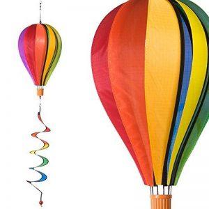 Ballon - Satorn Balloon TWISTER - résiste aux intempéries - Ballon:Ø25cm x 35cm, nacelle : 4cm x 3.5cm, Spirale: Ø10 cm x 75cm - incl. système d'accrochage de la marque IMC Networks image 0 produit