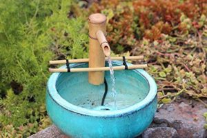 Bamboo Fountain Kits with 3de Wire Pump de la marque Adjustable Spout Small image 0 produit