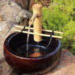 Bamboo Fountain Kits with 3de Wire Pump de la marque Adjustable Spout Small image 1 produit